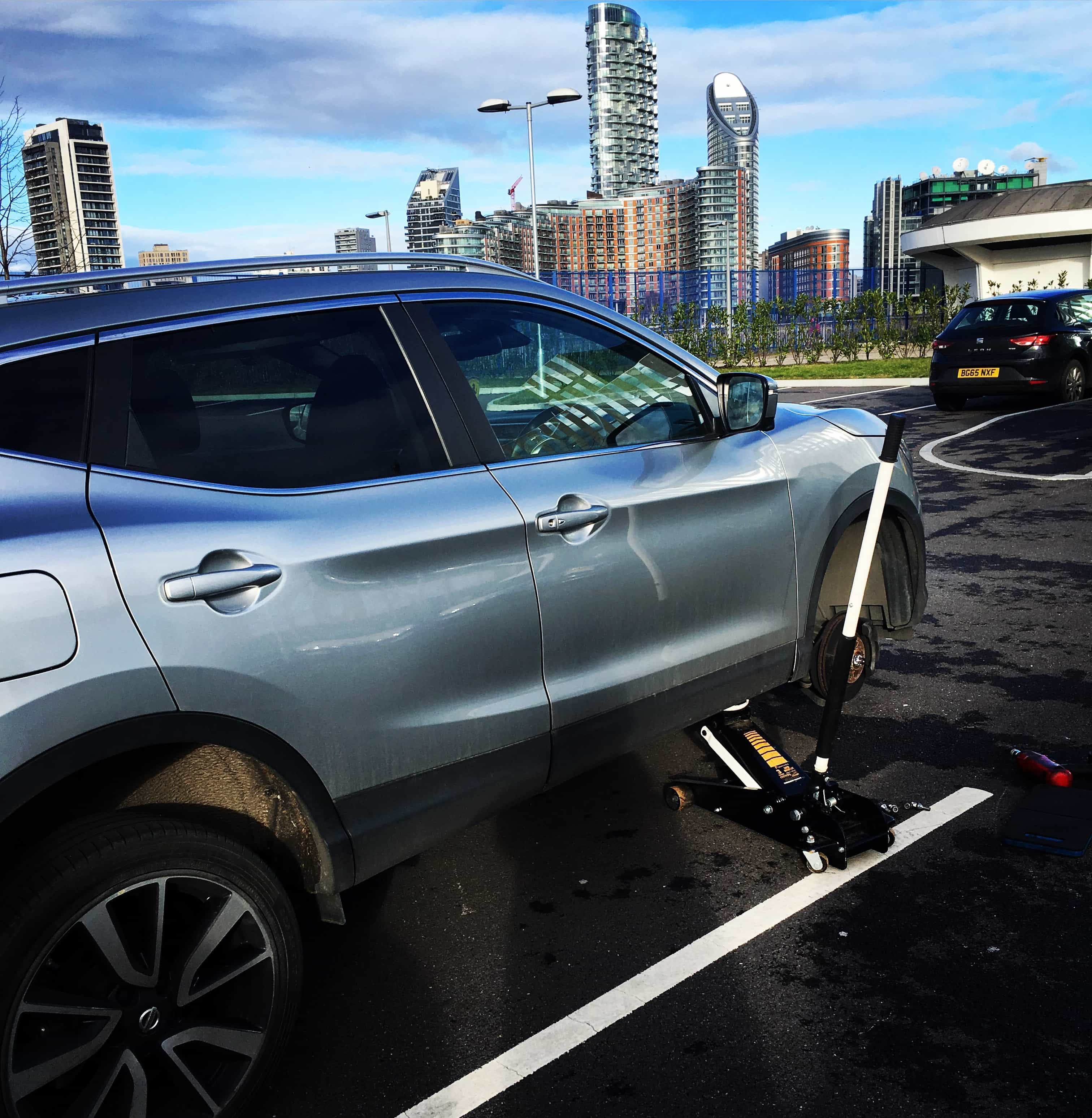 Tyre Fitting for Nissan Qashqai in Greenwich SE10