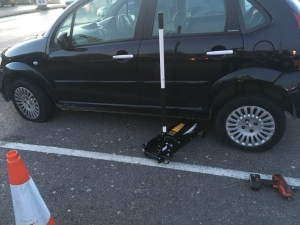 Citroen C3 Needs 2 Tyres fitted in Woodford Green